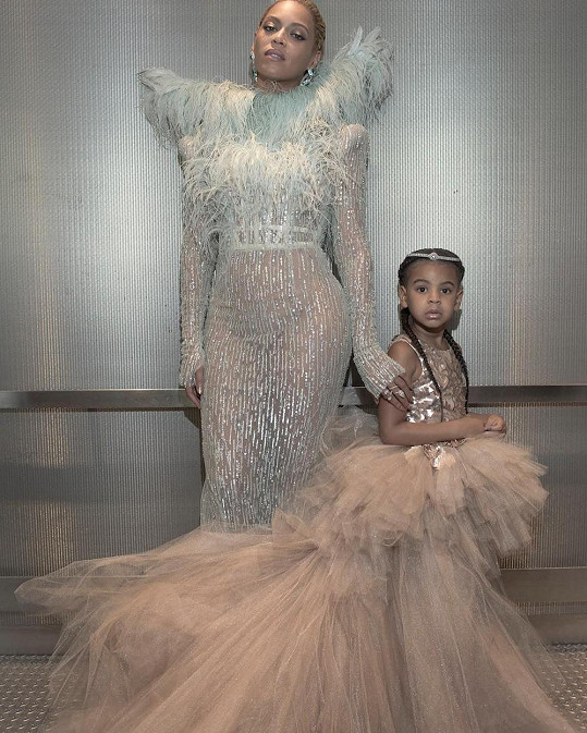 Beyoncé vzala na udílení MTV Video Music Awards dceru Blue Ivy.