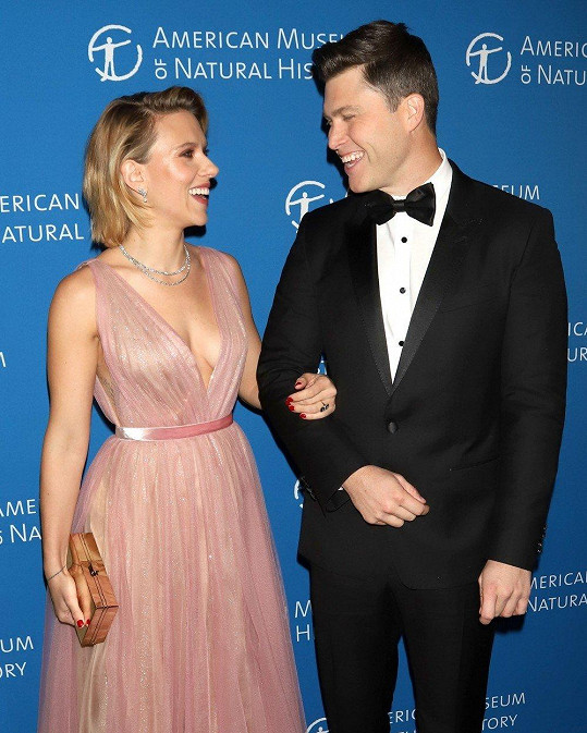 S Colinem randí herečka od loňského roku.