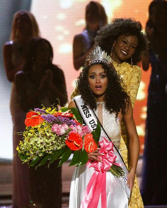 Nová americká misska Kara McCullough (25) se nemůže probrat z překvapení, že vyhrála.