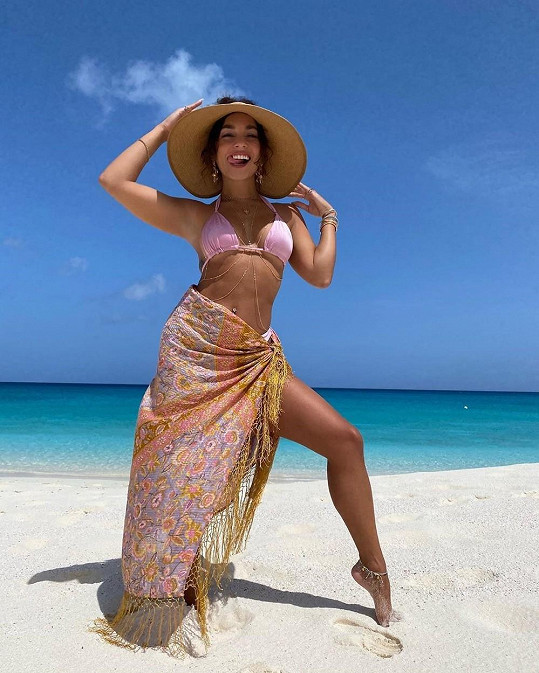 Vanessa Hudgens vyrazila na dovolenou.