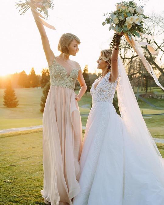 Taylor Swift trénovala na vlastní svatbu.