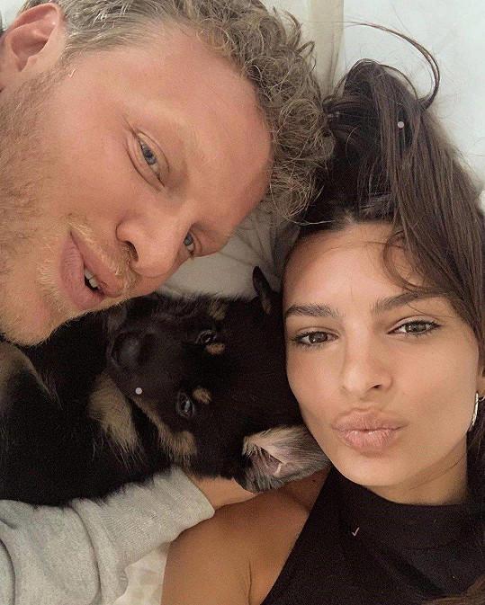 """S manželem si pořídili """"miminko"""", psíka Colomba."""