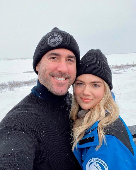 S manželem Justinem Verlanderem