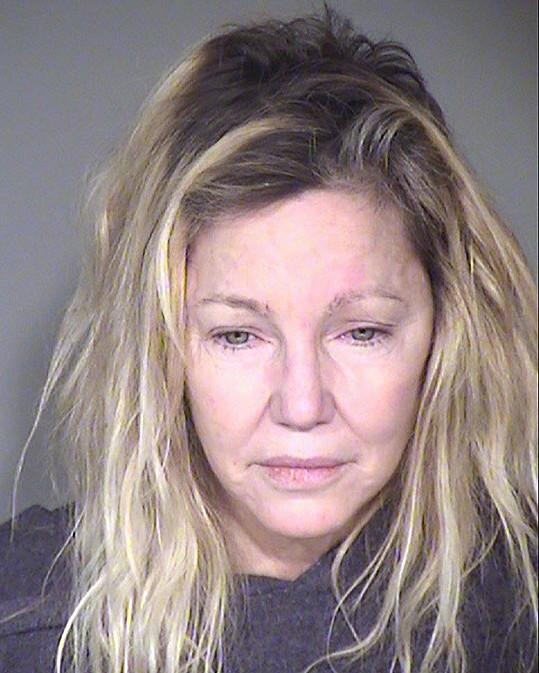 Heather opět skončila ve vazbě.