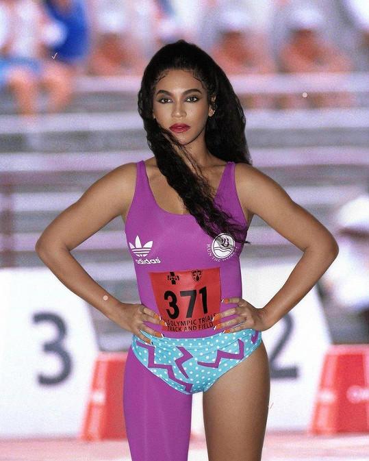 Beyoncé vypadala sexy i jako závodní běžkyně.