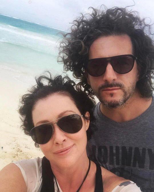 Shannen s manželem Kurtem Iswarienkem