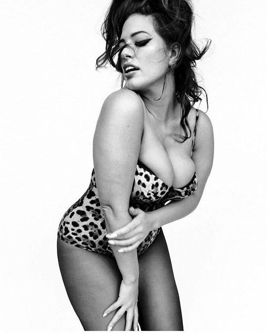 Ashley Graham pro italskou Vogue