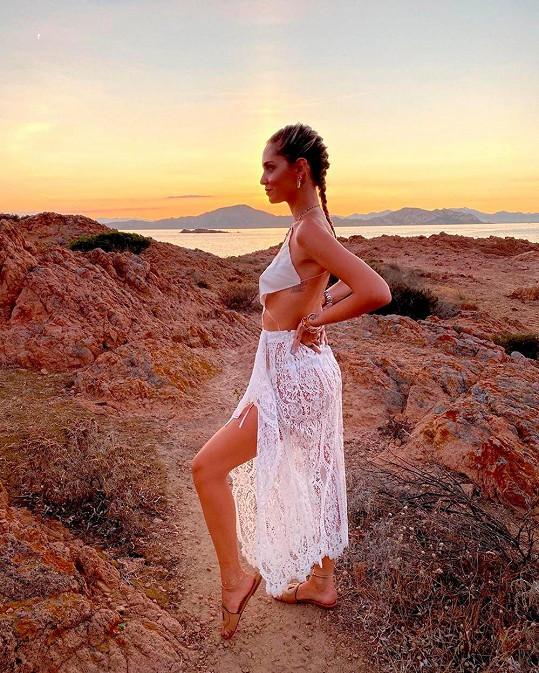 Ferragni je známá influencerka a také módní návrhářka.