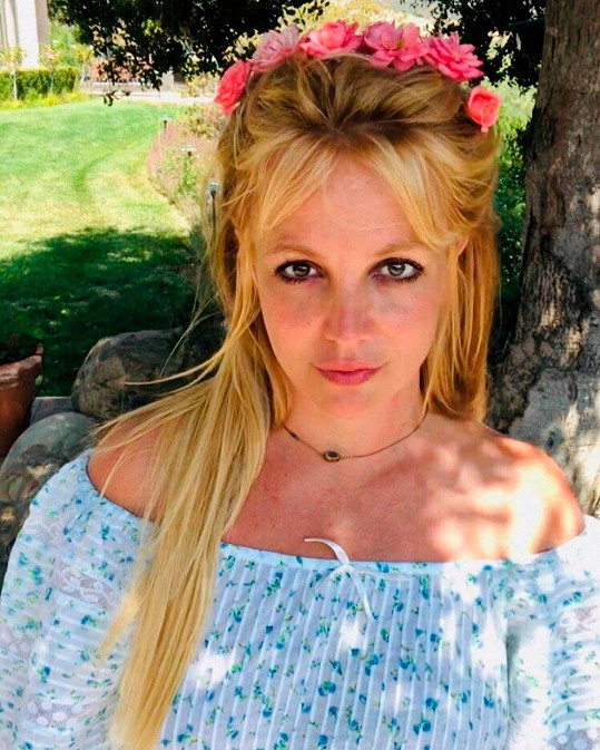 V tomhle topu se Britney Spears objevila na Instagramu už 17krát.