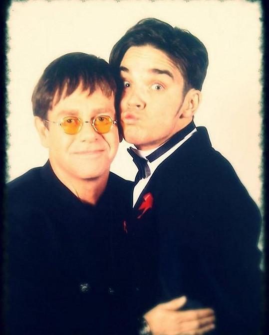 Robbieho a Eltona pojí dlouholeté přátelství.