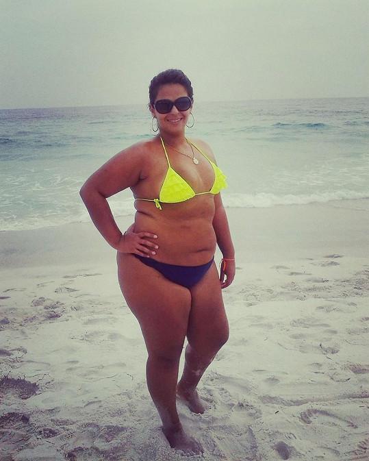 Raina s nadváhou bojovala už od školních let.