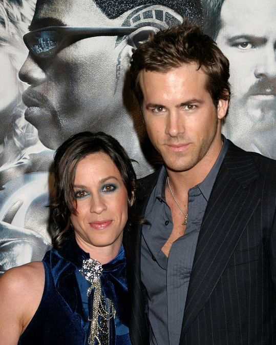 Alanis Morissette a Ryan Reynolds