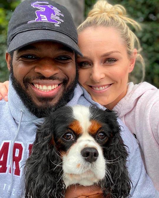 Lindsey Vonn s o pět let mladším snoubencem.