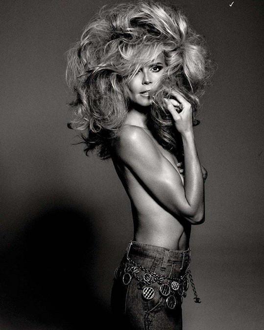Heidi patří k nejslavnějším německým modelkám.