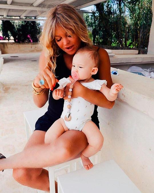 Goldie Hawn s vnučkou Rani
