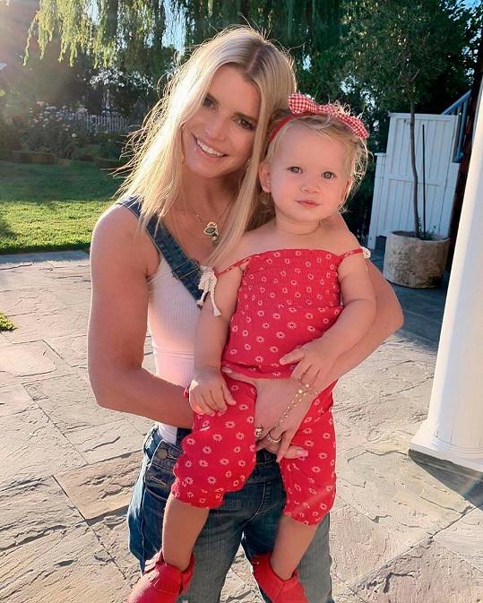 S nejmladší dcerkou Birdie