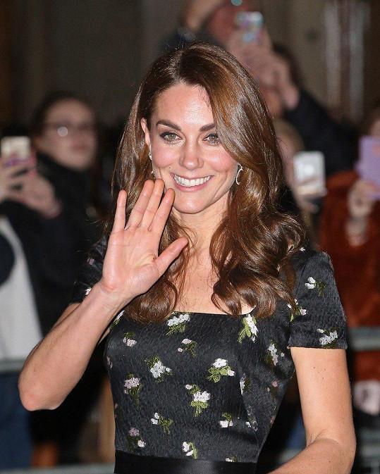 Vévodkyně vyrazila na 2019 Portrait Gala.