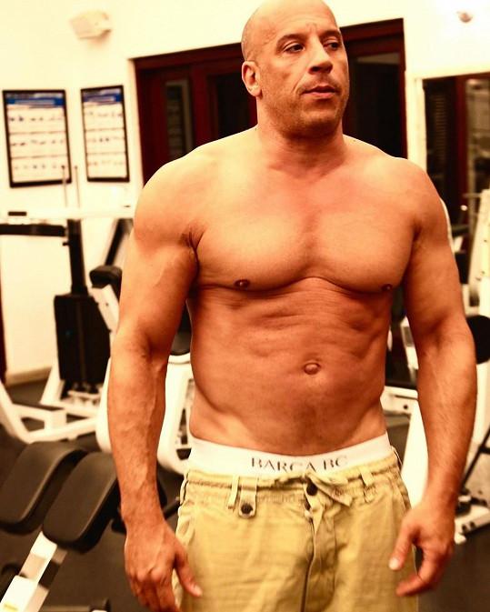Dnes už je zase hora svalů.