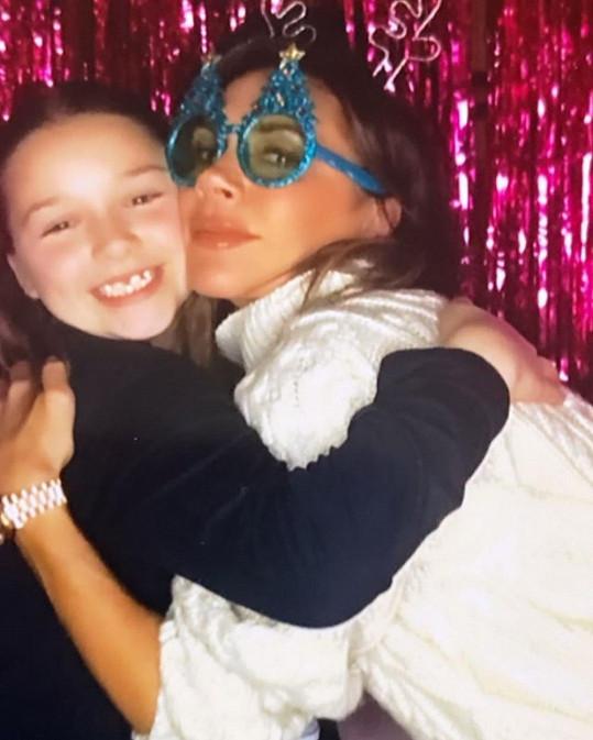Victoria Beckham s dcerou Harper Seven