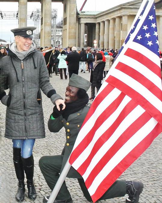 Renata si výlet do Berlína užila.