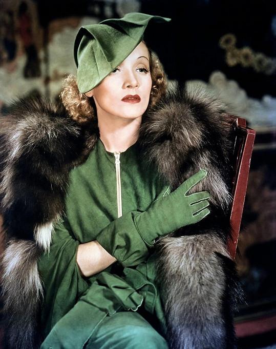Marlene Dietrich fascinuje dodnes...