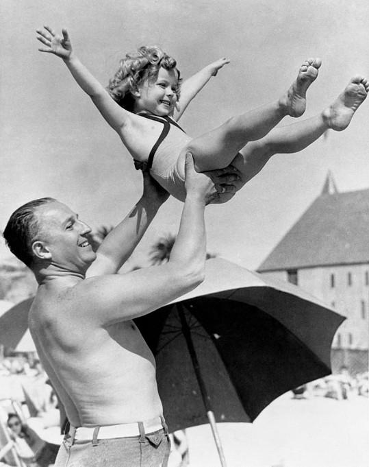Shirley Temple s tatínkem