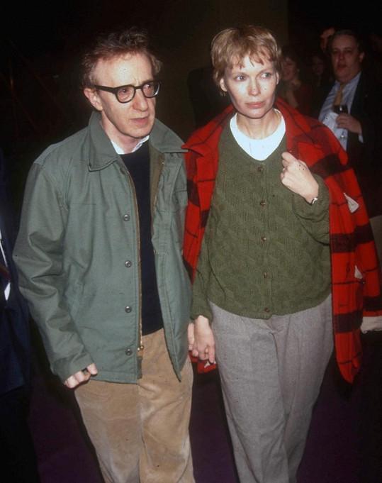 Exmanželé Woody Allen a Mia Farrow se nerozešli v dobrém.