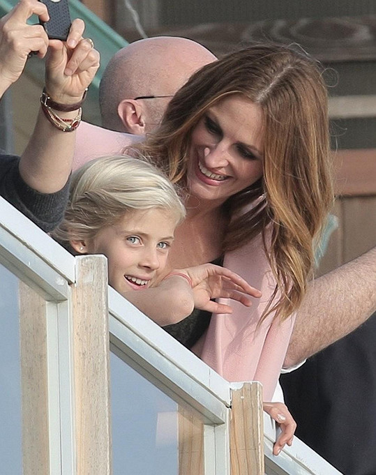 Julia Roberts s dcerou Hazel