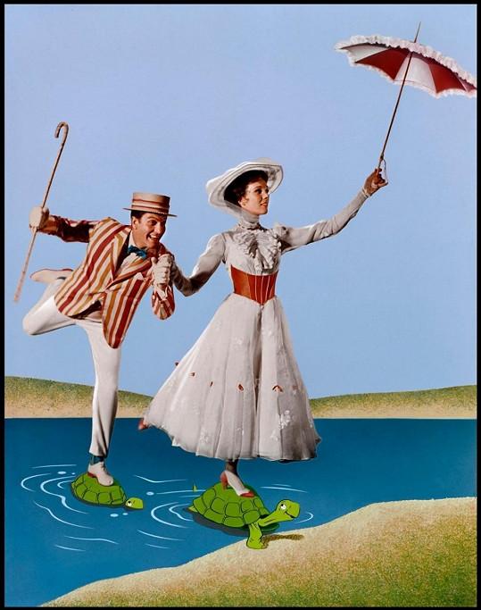 Pohádkový muzikál Mary Poppins byl ve své době oceněn pěti Oscary.