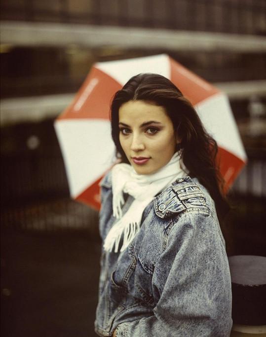 Ivana Christová v roce 1989.