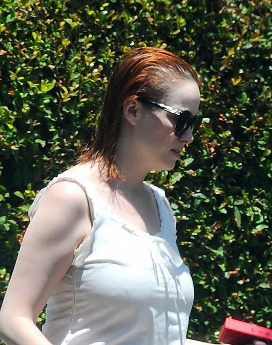 Christina přistižena nedaleko svého domu v Los Angeles