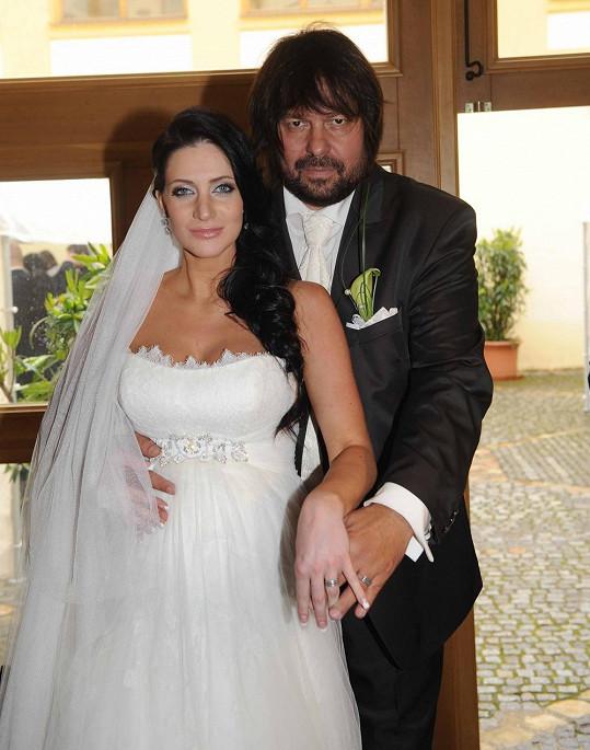Jirka s Andreou se vzali loni.