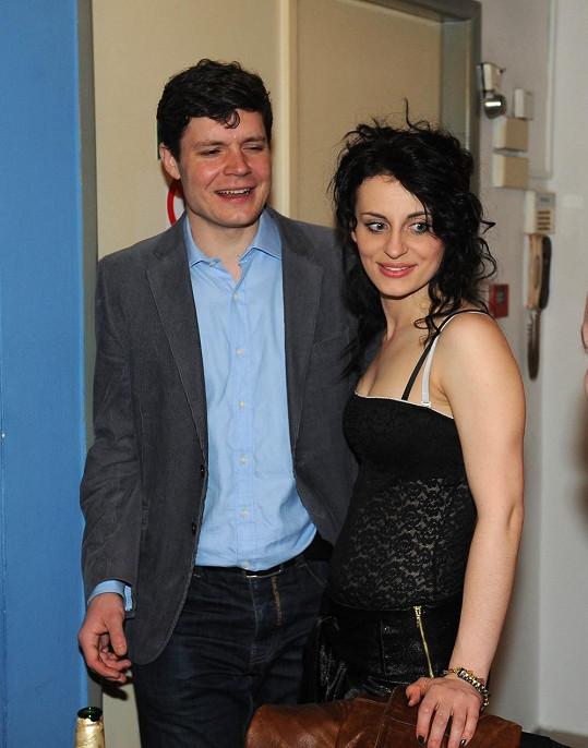 Markéta s bývalým přítelem Janem Medunou