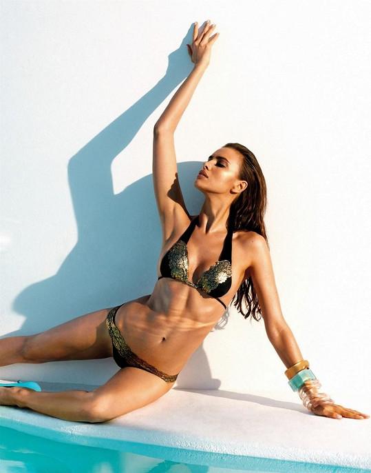 Irina je bezpochyby jednou z nejkrásnějších ruských rodaček.