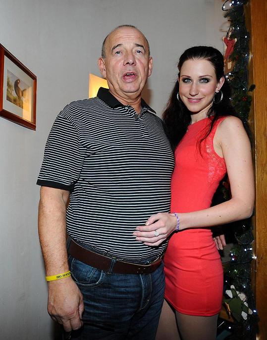 Ivan Vyskočil s přítelkyní.