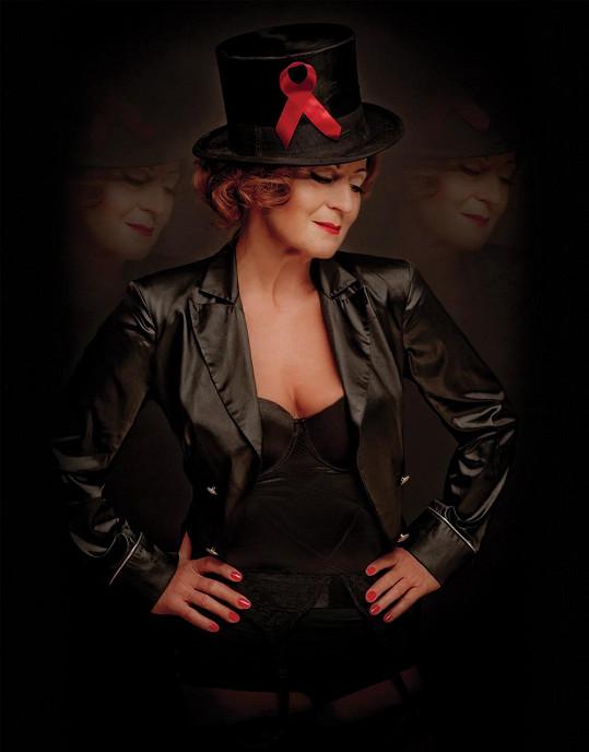 Simona Stašová jako Marlene Dietrich