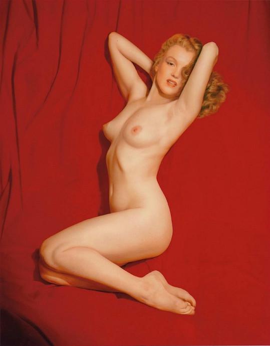 I takto se na stránkách časopisu Marilyn objevila...