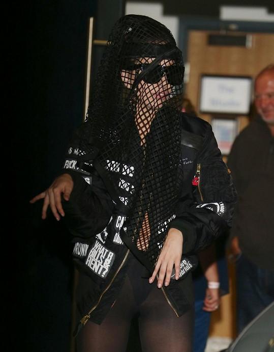 Lady Gaga v Londýně