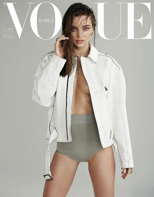 Miranda Kerr fotila pro korejský Vogue.