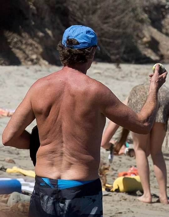 Hasselhoff je u vody jako doma.