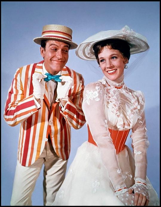 Herci jako chůva Mary Poppins a kominík Bert