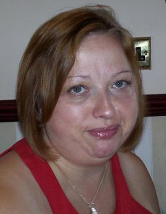 Tracey Burton milovala čokoládu ve velkém a podle toho také vypadala.