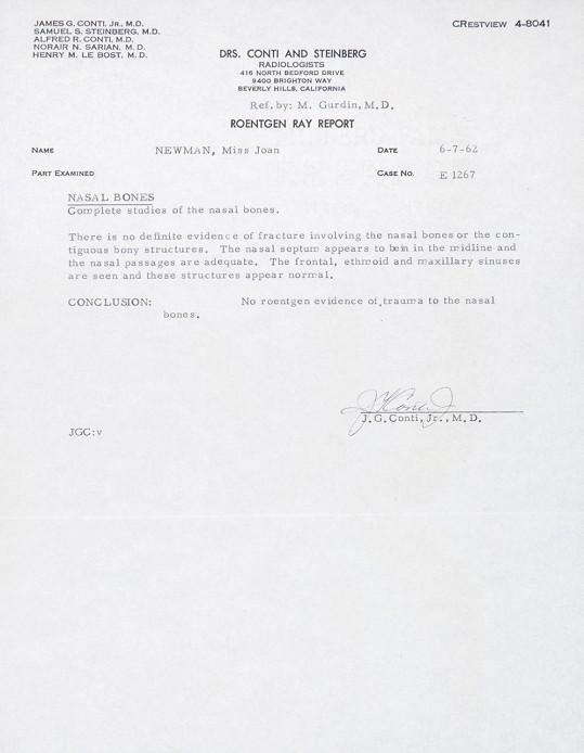 Předmětem aukce je hned několik lékařských spisů.