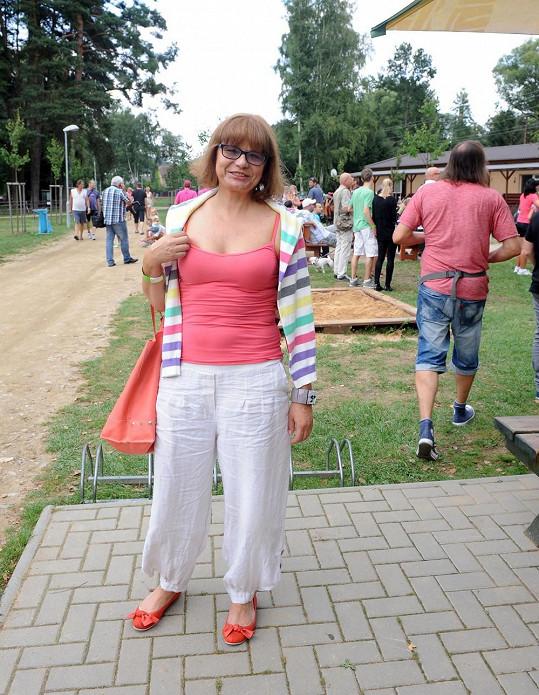 Ivana Andrlová se udržuje ve formě.