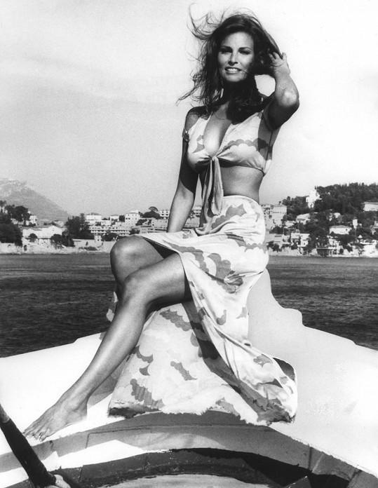 Božská Raquel Welch byla snem tisíců mužů.