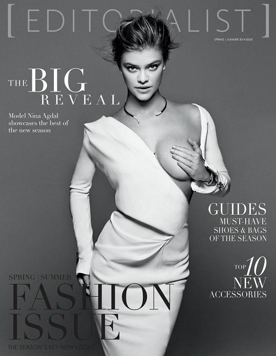 Na módní příloze časopisu se odhalila Nina Agdal.