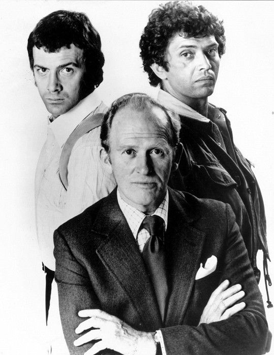 Profesionálové - Lewis Collins, Martin Shaw a Gordon Jackson