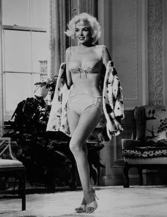 Když stála Marilyn naposledy před kamerou, byla kost a kůže