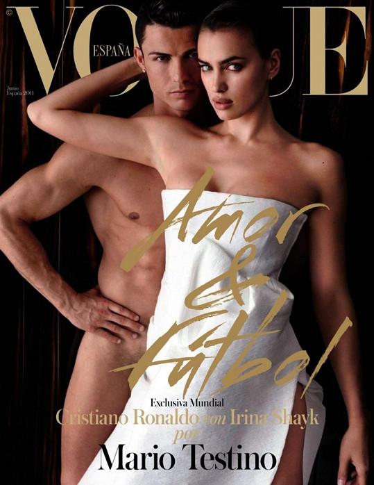 Španělský Vogue s Cristianem Ronaldem a Irinou Shayk