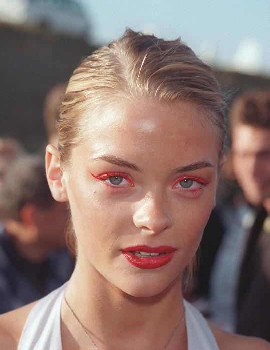 Jaime alias James King jako modelingová senzace v roce 1999